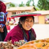 La gente nel Perù Fotografie Stock