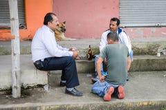 La gente nell'Ecuador Fotografia Stock Libera da Diritti