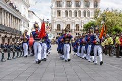 La gente nell'Ecuador Fotografia Stock