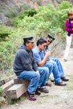 La gente nell'Ecuador Immagine Stock