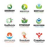 La gente Person Symbol Design Immagine Stock