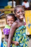 La gente in PORTO-NOVO, BENIN Fotografia Stock