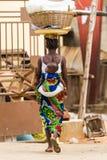 La gente in PORTO-NOVO, BENIN Fotografia Stock Libera da Diritti