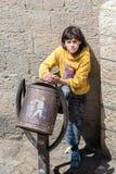La gente in Sana'a, Yemen Fotografia Stock Libera da Diritti