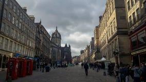 La gente in Scozia immagini stock libere da diritti