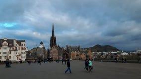 La gente in Scozia fotografia stock
