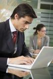 La gente sul lavoro: Fotografie Stock