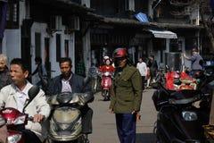 La gente sulla via Fotografia Stock Libera da Diritti