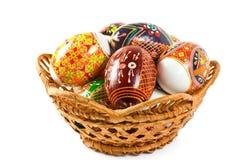 La gente ucraina modella le uova di Pasqua Immagine Stock Libera da Diritti
