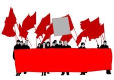 La gente una di anarchia Immagini Stock