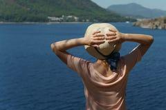 La gente in vacanza in paesi caldi Fotografia Stock Libera da Diritti