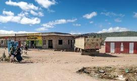 La gente in villaggio Immagine Stock Libera da Diritti