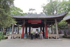 La gente visita la mezquita xianxian, ciudad de Guangzhou, China Foto de archivo