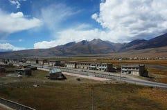 La gente vive en la montaña Fotos de archivo libres de regalías