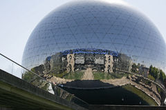 La Geode - La Villette, Royalty Free Stock Image