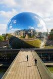 La Geode in the Parc de la Villette, Paris, France Royalty Free Stock Photo