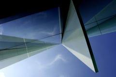 La geometria 1 di prospettiva della costruzione Fotografia Stock