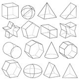 La geometria illustrazione di stock