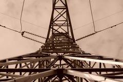 La geometria ad alta tensione Fotografie Stock