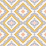 La geometria astratta nei retro colori, modello di geo di forme del diamante immagini stock