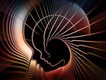La geometria crescente di anima Immagini Stock