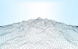La geometria 012 A del paesaggio Immagini Stock Libere da Diritti
