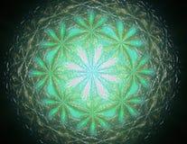 la geometria dell'illustrazione 3D 3D che rende contesto visivamente attraente Fotografia Stock Libera da Diritti