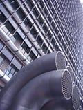 La geometria della città Fotografia Stock