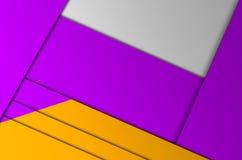 La geometria di colore del fondo Fotografie Stock Libere da Diritti