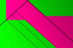 La geometria di colore del fondo Immagini Stock
