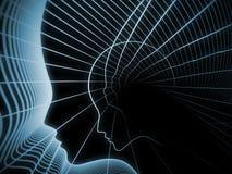 La geometria evolventesi di anima Fotografia Stock