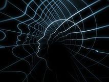La geometria metaforica di anima Fotografia Stock Libera da Diritti