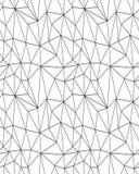 La geometria poligonale dell'estratto del mosaico Fotografia Stock Libera da Diritti