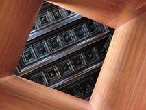 La geometria quadratica Fotografie Stock Libere da Diritti