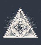 La geometria sacra illustrazione vettoriale