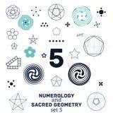La geometria sacra Fotografia Stock