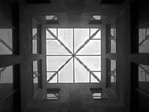 La geometria urbana Immagini Stock