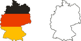 La Germania Immagine Stock