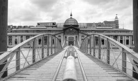 La Germania, Amburgo, pilastro, Fishmarket Corridoio Immagine Stock Libera da Diritti