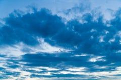 La Germania, Baviera, nuvole Fotografia Stock Libera da Diritti