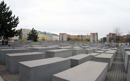 La Germania, Berlino, monumento ebreo di olocausto a Berlino fotografia stock