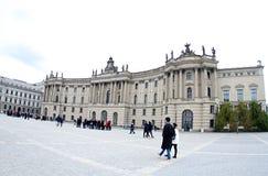 La Germania l'università di Humboldt di Berlino fotografie stock libere da diritti