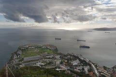 La Gibilterra, il punto di controllo Fotografia Stock Libera da Diritti
