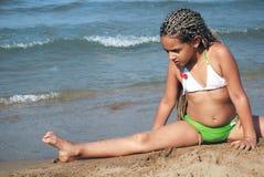 La ginnastica si esercita in Fotografia Stock Libera da Diritti