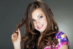 La giovane bella ragazza Fotografia Stock Libera da Diritti