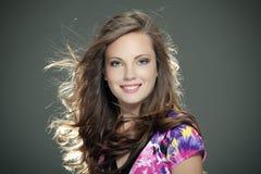 La giovane bella ragazza Fotografia Stock
