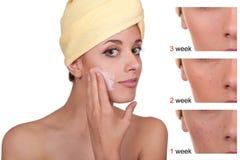 Cosmetici e trucco Immagini Stock