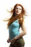 La giovane donna sessuale Fotografia Stock