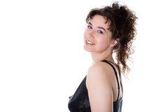 La giovane donna sorridente Fotografia Stock Libera da Diritti