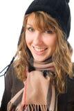 La giovane ragazza attraente Fotografie Stock Libere da Diritti